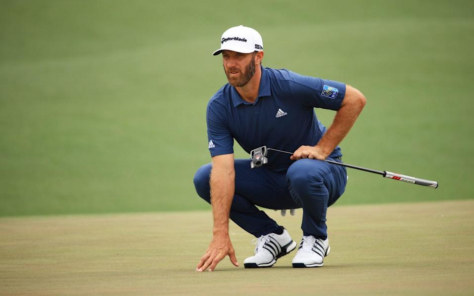 Dustin Johnson - GETTY IMAGES