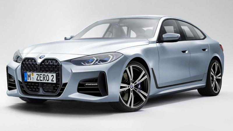 2021 BMW 4 Series Gran Coupe rendering