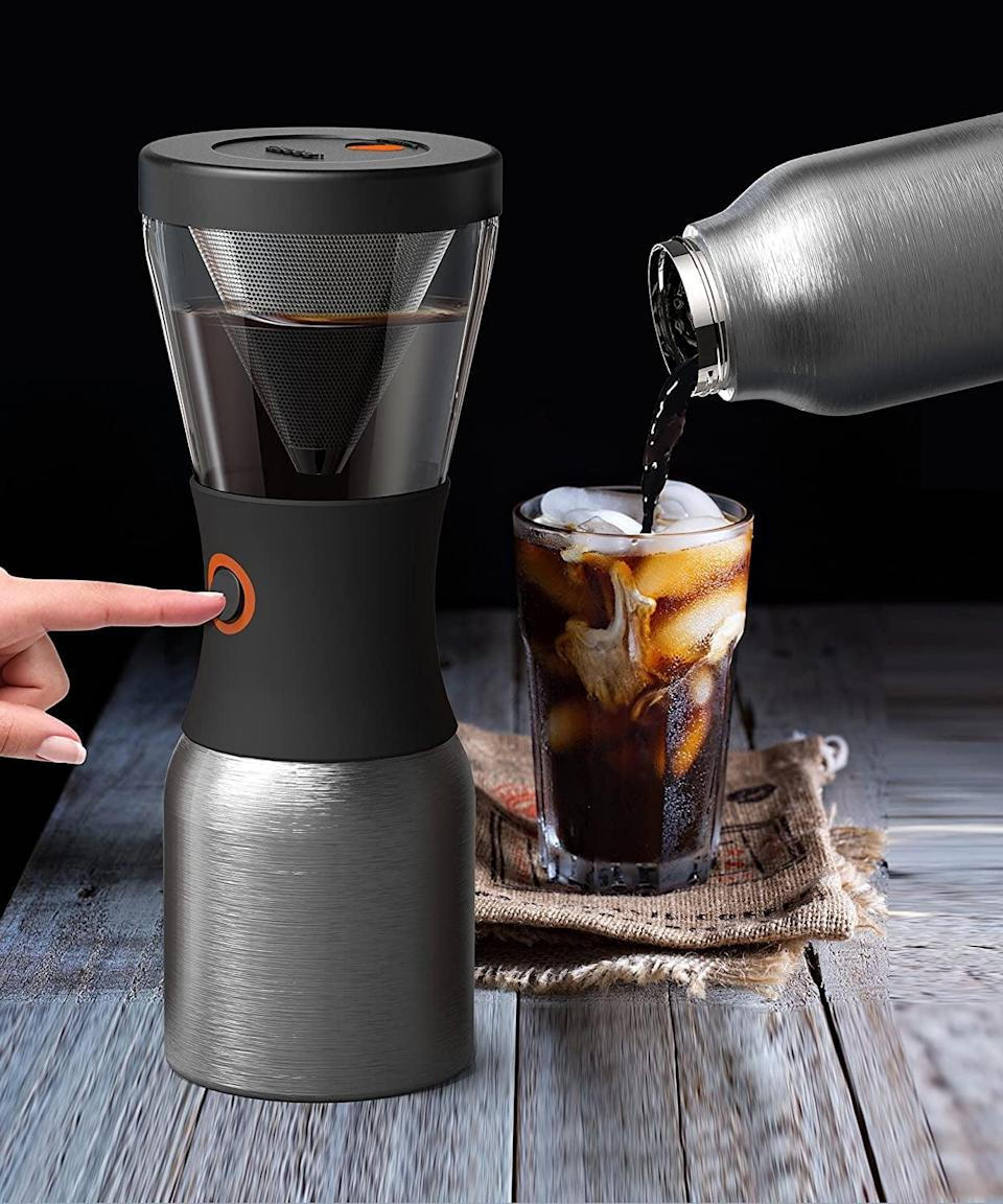 <p>The <span>Asobu Coldbrew Portable Cold Brew Coffee Maker</span> ($42) is a vacuum insulated, hassle-free, cold brew coffee maker that you can take on-the-go.</p>