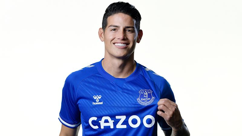 James Rodriguez hopes Everton can sign more 'big names' after £22m move from Real Madrid