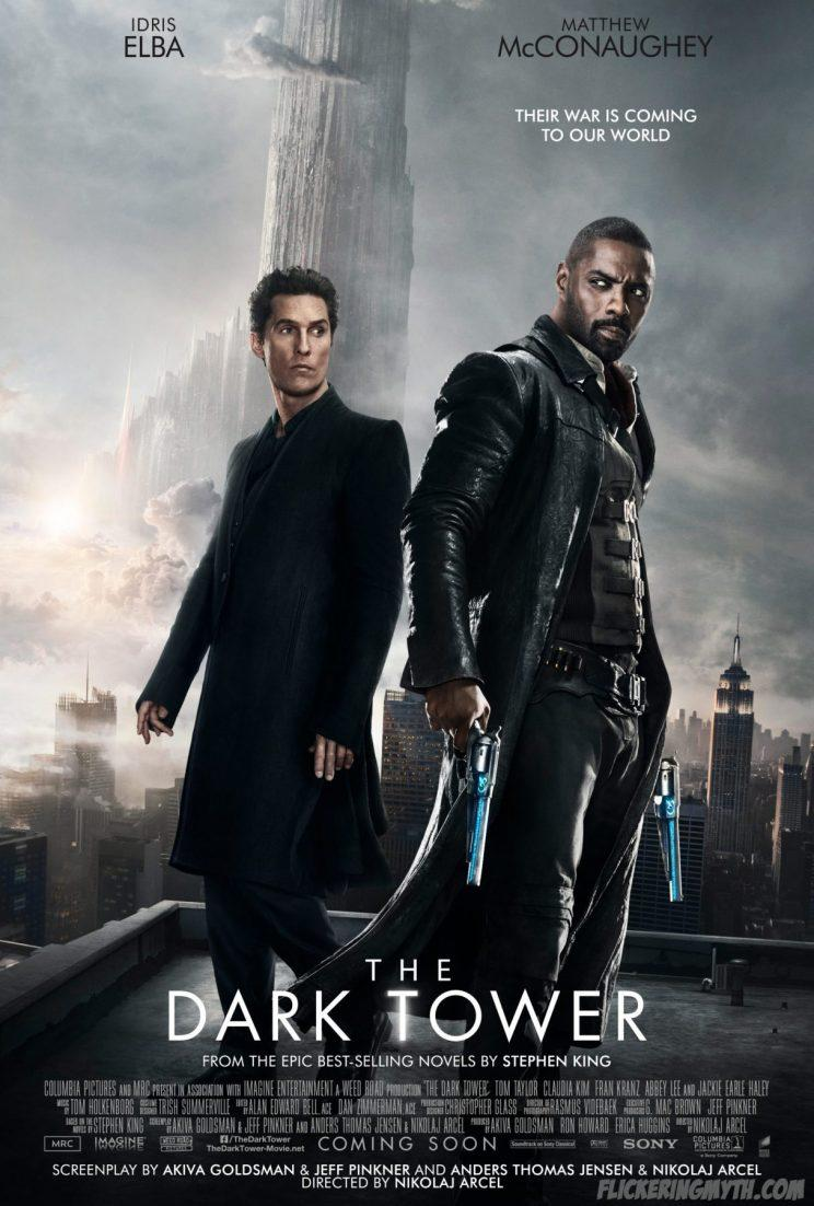 Idris Elba and Matthew McConaughey will face off in The Dark Tower - Credit: Sony