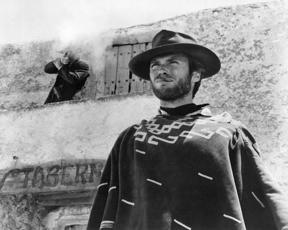 <p>While working on <em>Rawhide</em>, Eastwood simultaneously appeared in a series of Italian Western films—dubbed Spaghetti Westerns—directed by Sergio Leone. The new films led to growing popularity for the actor, not only in the United States, but also internationally. </p>