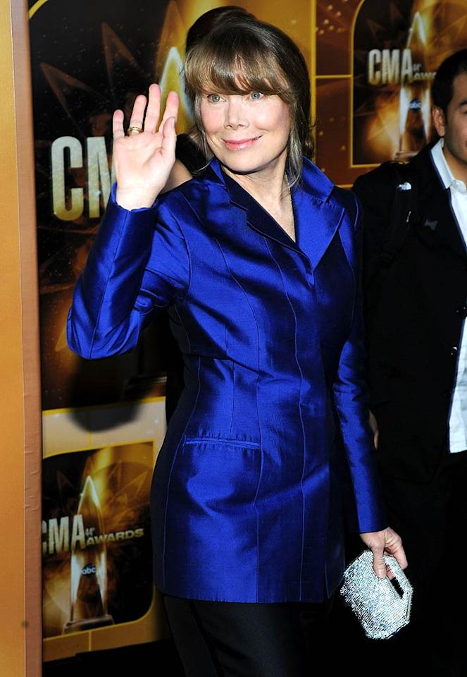 """December 25: Sissy Spacek turns 61 Larry Busacca/<a href=""""http://www.gettyimages.com/"""" target=""""new"""">GettyImages.com</a> - November 10, 2010"""