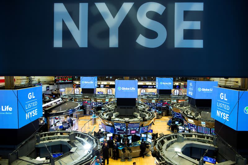 Wall St edges higher after jobless data; market shrugs off impeachment