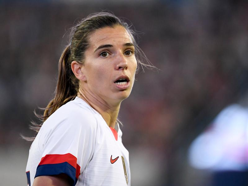 United States international Tobin Heath (Getty Images)