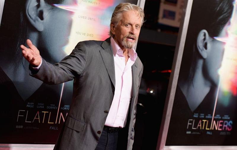 Michael Douglas has opted to try and head off an accusation of sexual misconduct, after being contacted about a planned exposé in the media. The actor pictured here in September 2017. Source: Getty