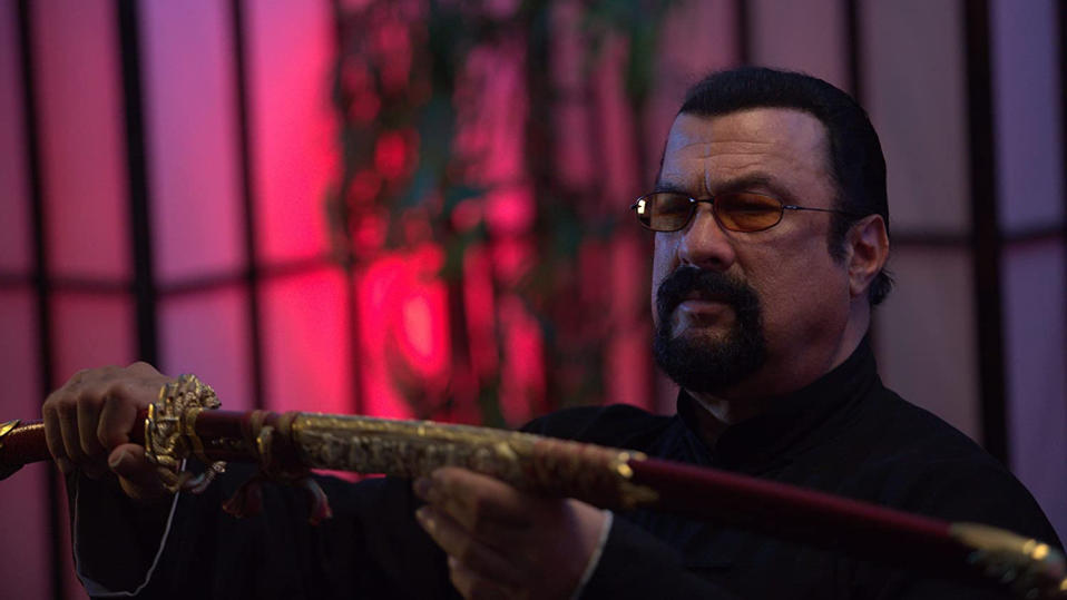Steven Seagal in 'The Perfect Weapon'. (Credit: Momentum Pictures)