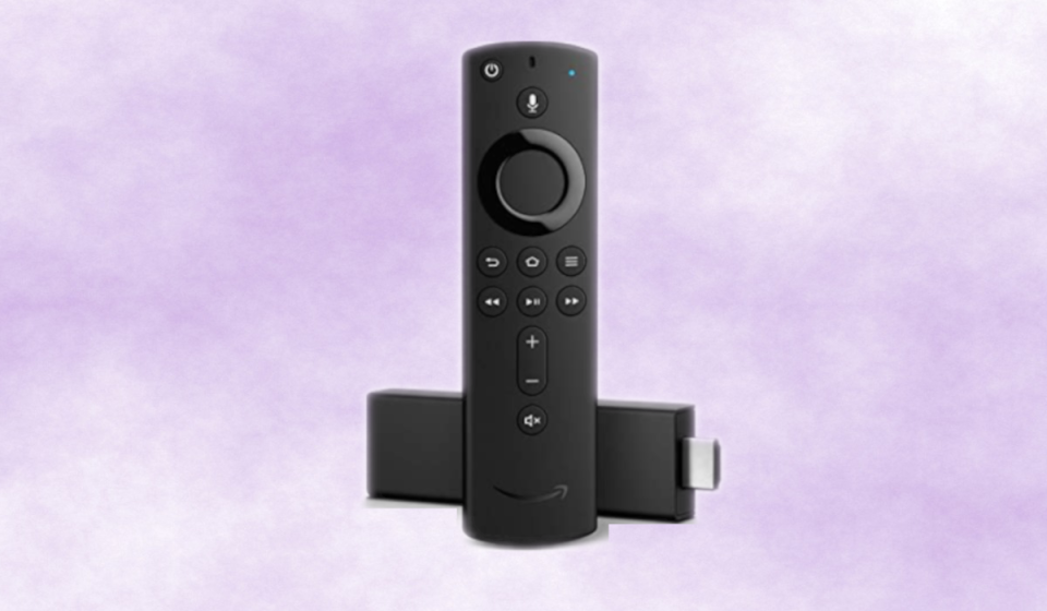 """""""Stick"""" it to the cable company...and open up a world of streaming goodness with the Fire Stick TV 4K. (Photo: Amazon)"""
