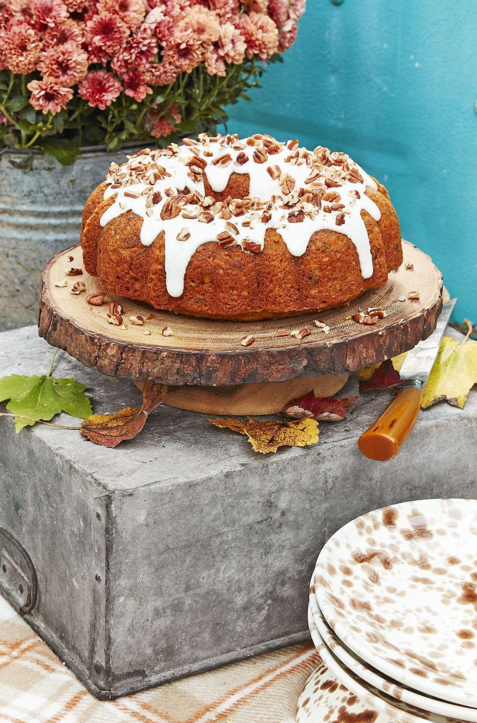 <p>For those who have opted for a smaller, more intimate ceremony, a delicious bundt cake may fit right in.</p>