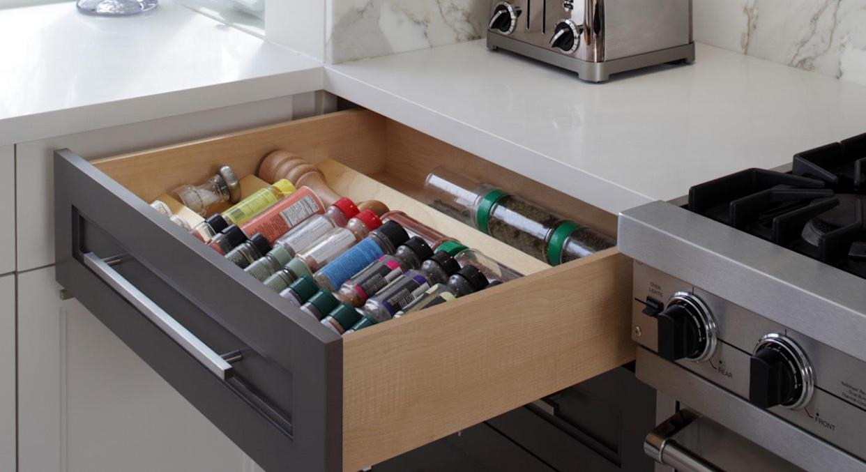 This space-saving kitchen gadget has gone viral. (Getty Images)