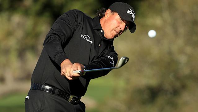 He may still be stuck in a winless drought, but there's no doubt that Phil Mickelson is playing some of his best golf in recent memory.