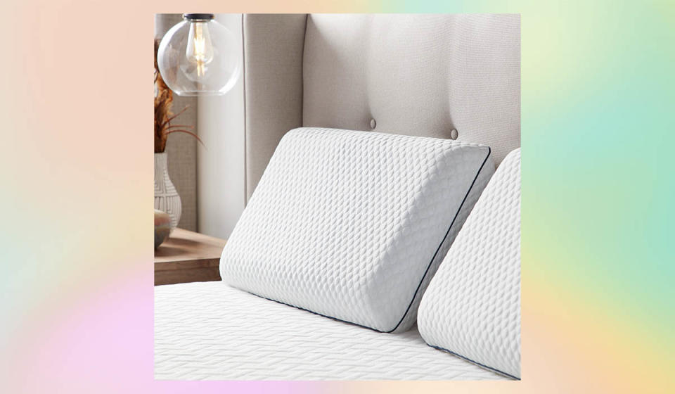 Supportive and cooling — to help you chill out while you rest, and wake up pain-free. (Photo: Walmart)