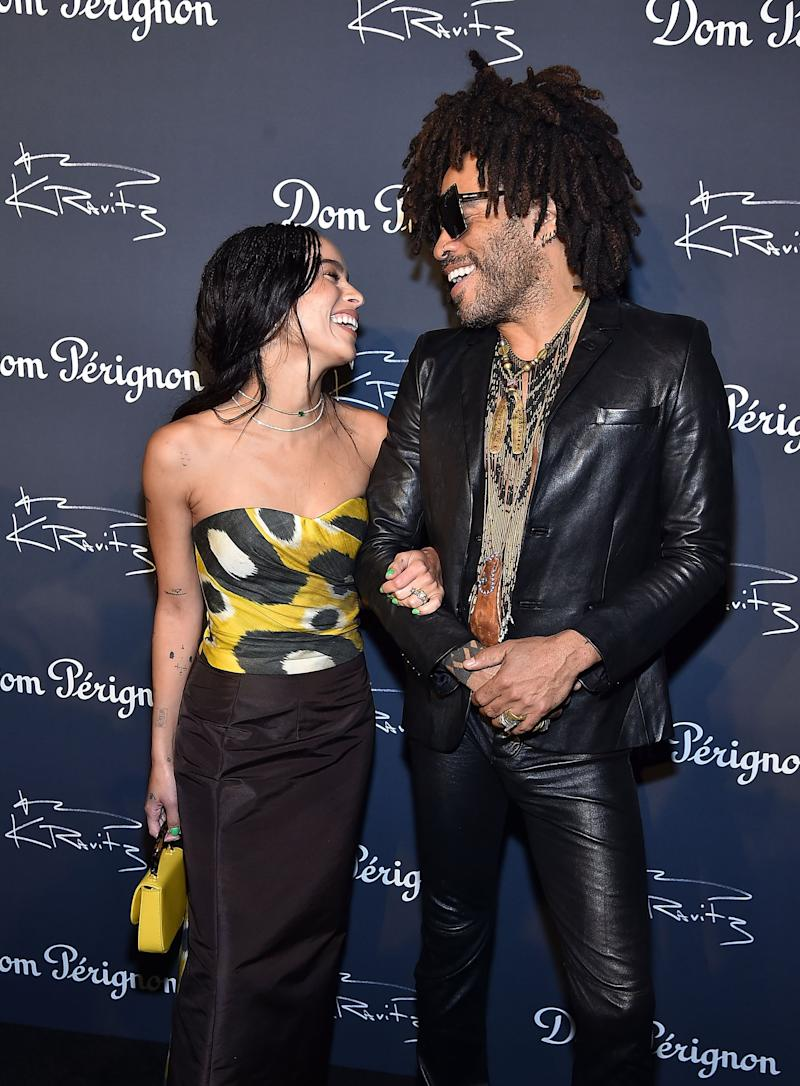 Lenny Kravitz Dishes On Daughter Zoe S Upcoming Wedding It