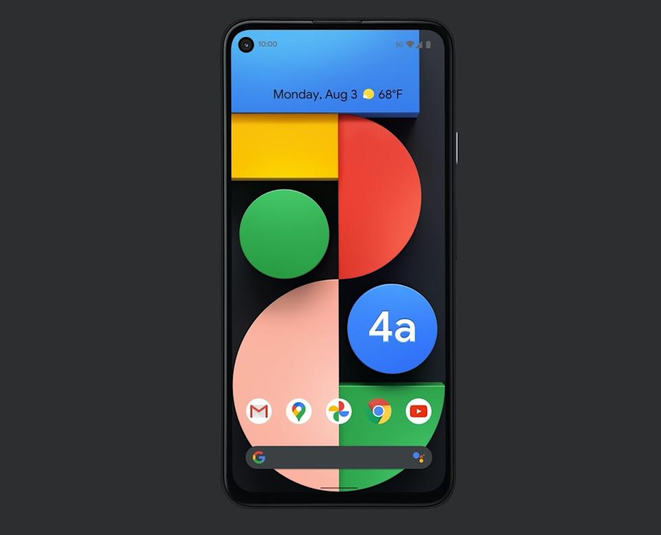 Google's Pixel 4A 5G offers some of the best camera technology on a smartphone. (Image: Google)
