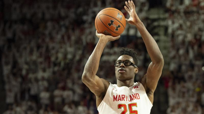 Jalen Smith says he played out of position for Terps