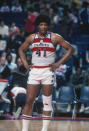 A mainstay for the Bullets in Baltimore and later in Washington, Unseld died after battling a variety of ailments. He was 17. The rebounding machine was the NBA's MVP and Rookie of the Year in his debut season and later added a Finals MVP to his trophy chest. His ties to the franchise continued in his post-playing days as he served as both the team's coach and GM.