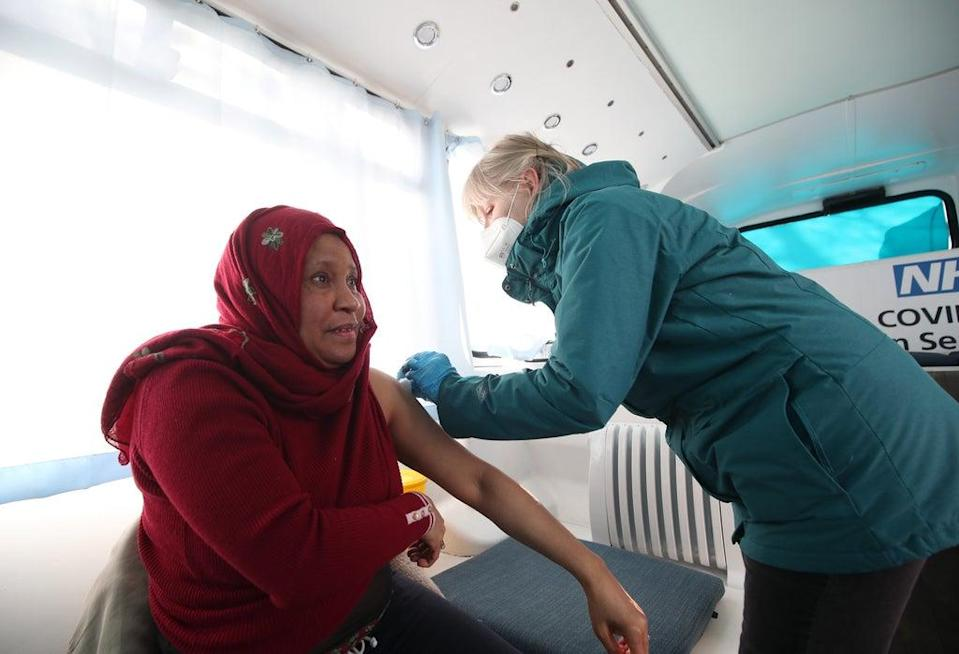 People will be able to get their Covid and flu vaccines on the same day (PA Archive)