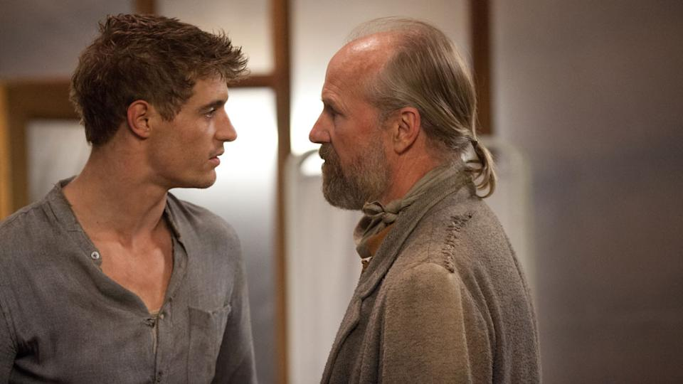 "Max Irons and William Hurt in Open Road Films' ""The Host"" - 2013"