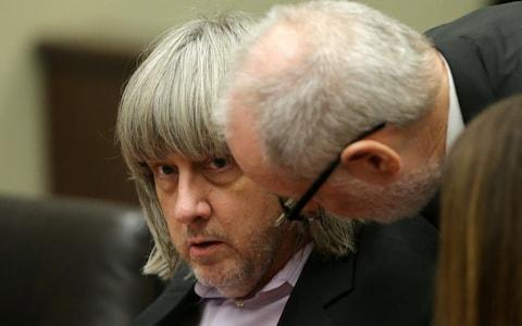 Lawyers for David Turpin said he appeared 'dazed' - Credit: Reuters