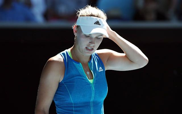 <span>Konta hammered final opponent Caroline Wozniacki at the Australian Open in January</span>