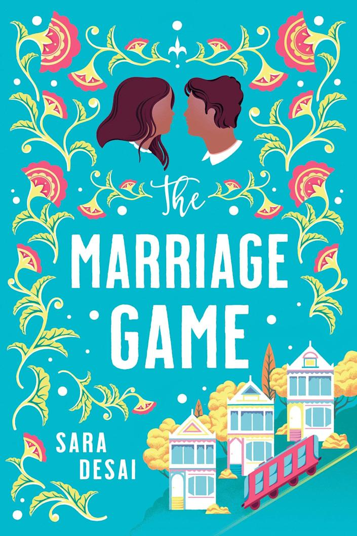 <p><span><strong>The Marriage Game</strong> by Sara Desai</span> ($14) starts when Layla Patel returns home after a nasty breakup. Her father, intent on helping Layla find love again, sets up a string of blind dates. What he didn't intend was for things to start heating up between Layla and Sam Mehta, the man who's subleasing the office space above their family restaurant.</p> <p>Both Layla and Sam are part of the Desi community, and Indian culture plays a big part in the story, from the mentions of dishes to apparel. Between these cultural glimpses and the sparks between Layla and Sam, everything about this book feels vibrant.</p> <p>Desai's second book in the series, <strong>The Dating Plan</strong>, comes out this month!</p>