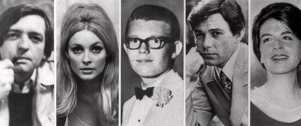 PHOTO: Charles Manson's five victims slain the night of Aug. 9, 1969 at the Benedict Canyon Estate of Roman Polanski. From left, Voityck Frykowski, Sharon Tate, Stephen Parent, Jay Sebring, and Abigail Folger. (AP)