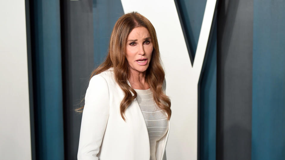 Caitlyn Jenner says she doesn't think trans girls should compete in sport against cisgender girls. (Karwai Tang/Getty Images)