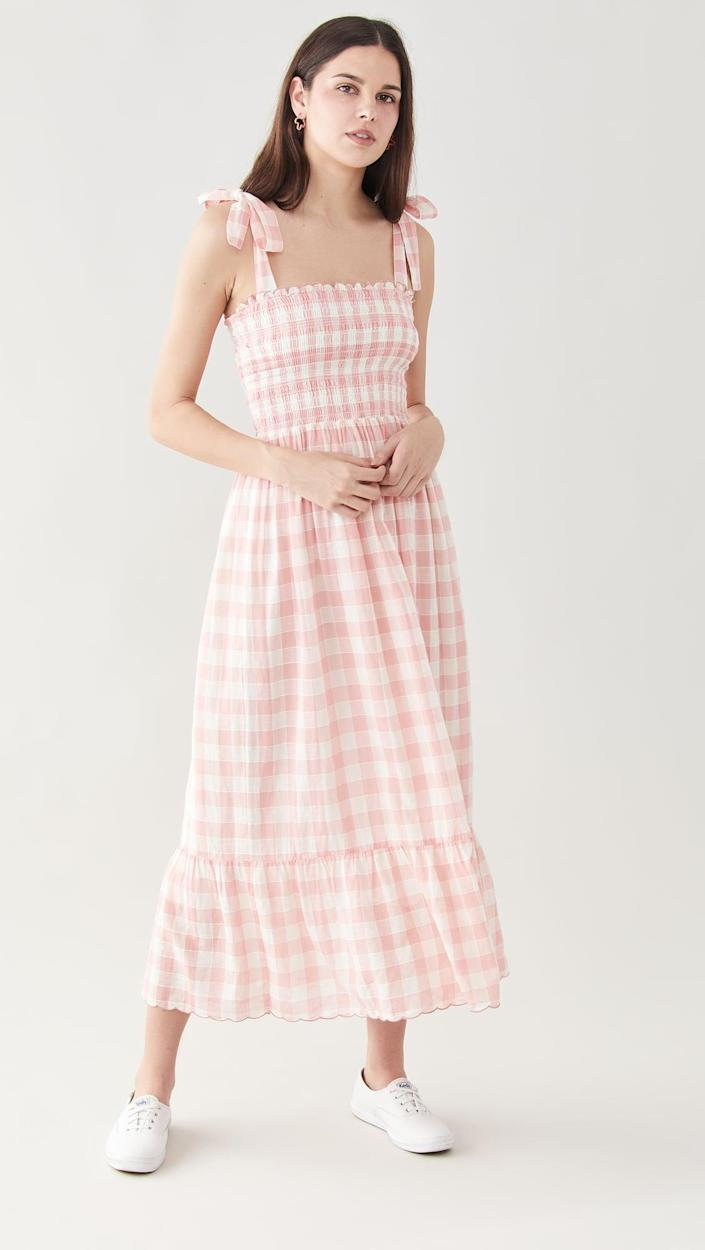 <p>If you love gingham print, get the <span>The Great. The Lagoon Dress</span> ($395).</p>