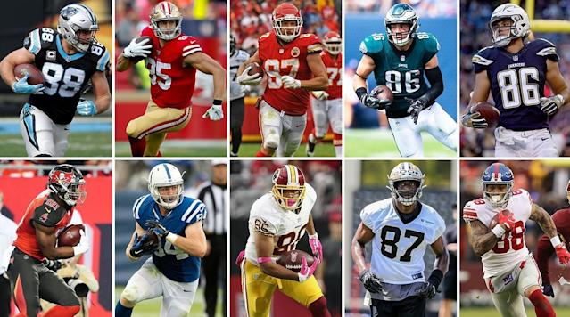 A look at what NFL teams really want from a tight end, why two-tight end sets create an advantage, the Patriots after Gronk, and the top 10 tight ends heading into the 2019 season.