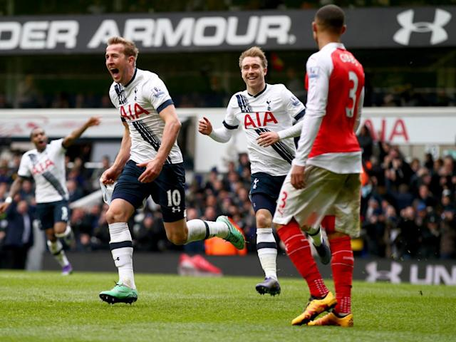 Spurs will play Arsenal in the last ever north London derby at White Hart Lane this month (Getty)
