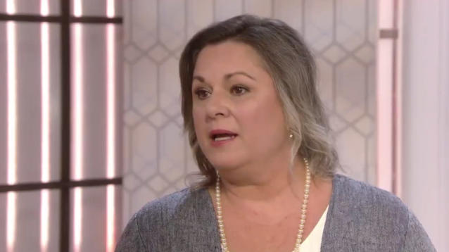 Leigh Corfman says that in 1979, when she was 14 years old, she was sitting in the courthouse with her mother when Roy Moore, then 32 years old, walked up and introduced himself.