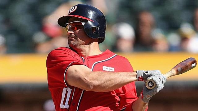 Ryan Zimmerman blasted his 235th Washington Nationals home run on Monday, surpassing Vladimir Guerrero's record with the franchise.