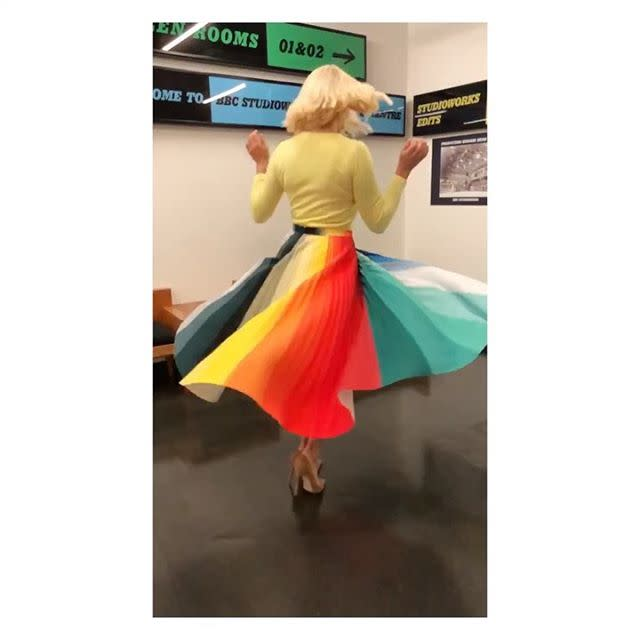 """<p><a class=""""body-btn-link"""" href=""""https://www.kittyjoseph.com/product-page/spectrum-skirt"""" target=""""_blank"""">BUY NOW</a> Chrome skirt, £355, Kitty Joseph</p><p><a class=""""body-btn-link"""" href=""""https://go.redirectingat.com?id=127X1599956&url=https%3A%2F%2Fwww.purecollection.com%2Fclothing%2Fwomens-sweaters-jumpers%2Fcashmere_lofty_sweatshirt_1_chartreuse.htm%3Fproductid%3D93892&sref=http%3A%2F%2Fwww.cosmopolitan.com%2Fuk%2Ffashion%2Fcelebrity%2Fg19699833%2Fholly-willoughby-clothes%2F"""" target=""""_blank"""">BUY NOW</a> Cashmere Lofty Sweatshirt, £75, Pure Collection</p><p><a href=""""https://www.instagram.com/p/BzfO37AnBxK/"""">See the original post on Instagram</a></p><p><a href=""""https://www.instagram.com/p/BzfO37AnBxK/"""">See the original post on Instagram</a></p><p><a href=""""https://www.instagram.com/p/BzfO37AnBxK/"""">See the original post on Instagram</a></p><p><a href=""""https://www.instagram.com/p/BzfO37AnBxK/"""">See the original post on Instagram</a></p><p><a href=""""https://www.instagram.com/p/BzfO37AnBxK/"""">See the original post on Instagram</a></p><p><a href=""""https://www.instagram.com/p/BzfO37AnBxK/"""">See the original post on Instagram</a></p><p><a href=""""https://www.instagram.com/p/BzfO37AnBxK/"""">See the original post on Instagram</a></p><p><a href=""""https://www.instagram.com/p/BzfO37AnBxK/"""">See the original post on Instagram</a></p><p><a href=""""https://www.instagram.com/p/BzfO37AnBxK/"""">See the original post on Instagram</a></p>"""