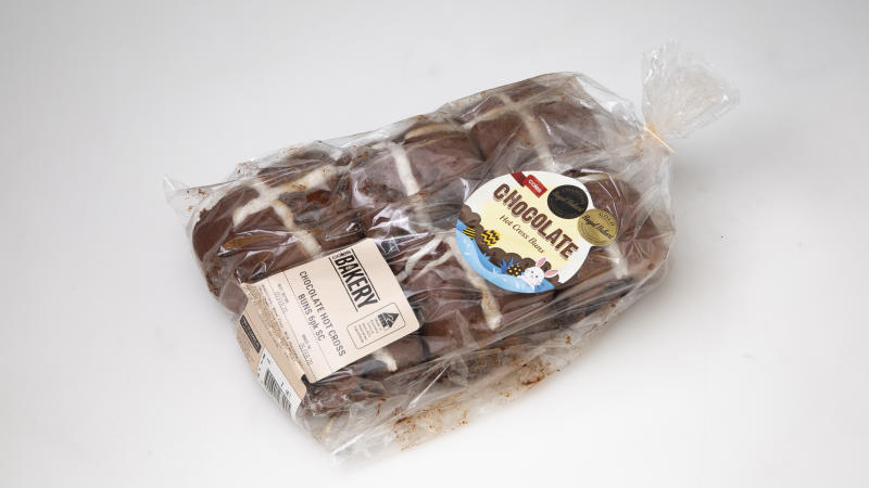 Coles Chocolate Hot Cross Buns came second on Choice's list
