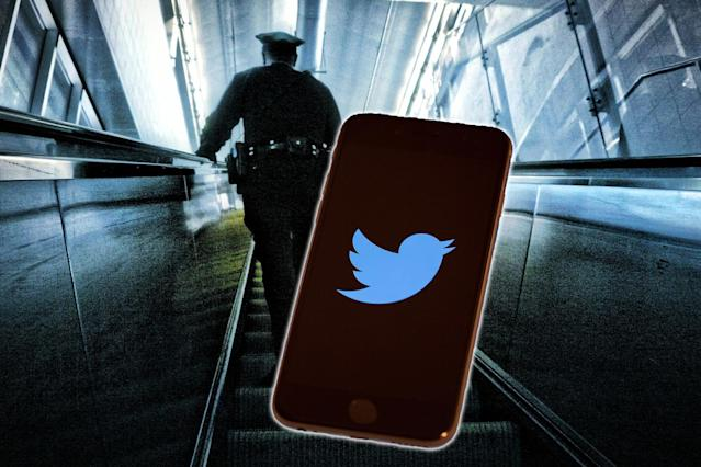 Police in Scotland used Twitter to help a domestic-abuse victim. (Photo: Getty Images)
