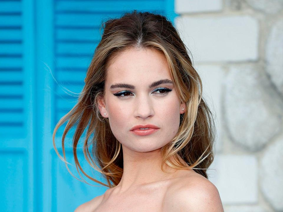 Lily James will star as Pamela Anderson in a new biopic (Getty Images)