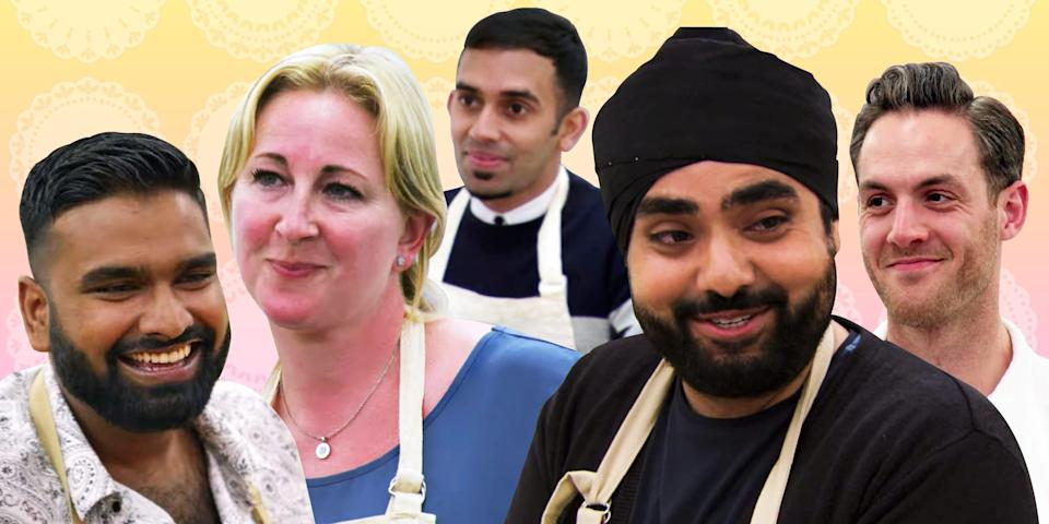 what it's like to compete on Great British Baking Show 2x1