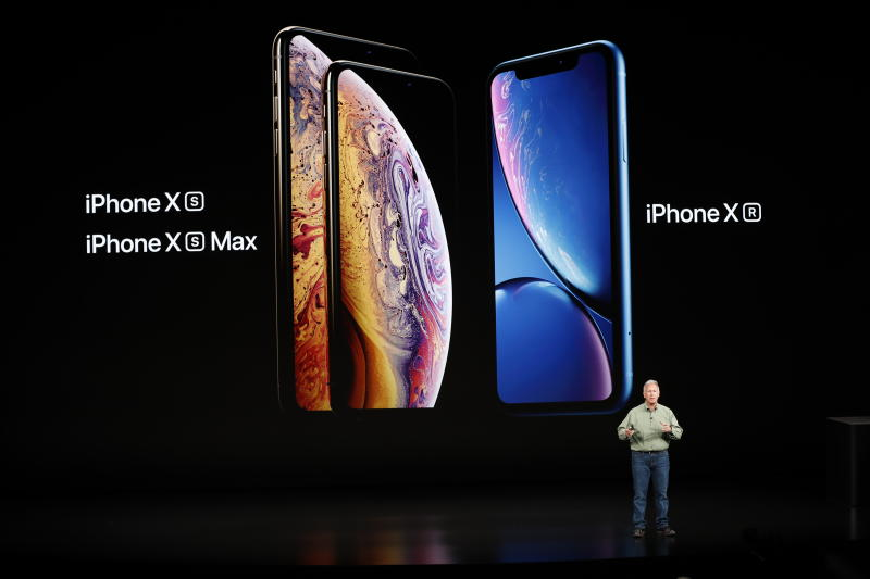 Apple's cheaper iPhone XR rocks bright colours