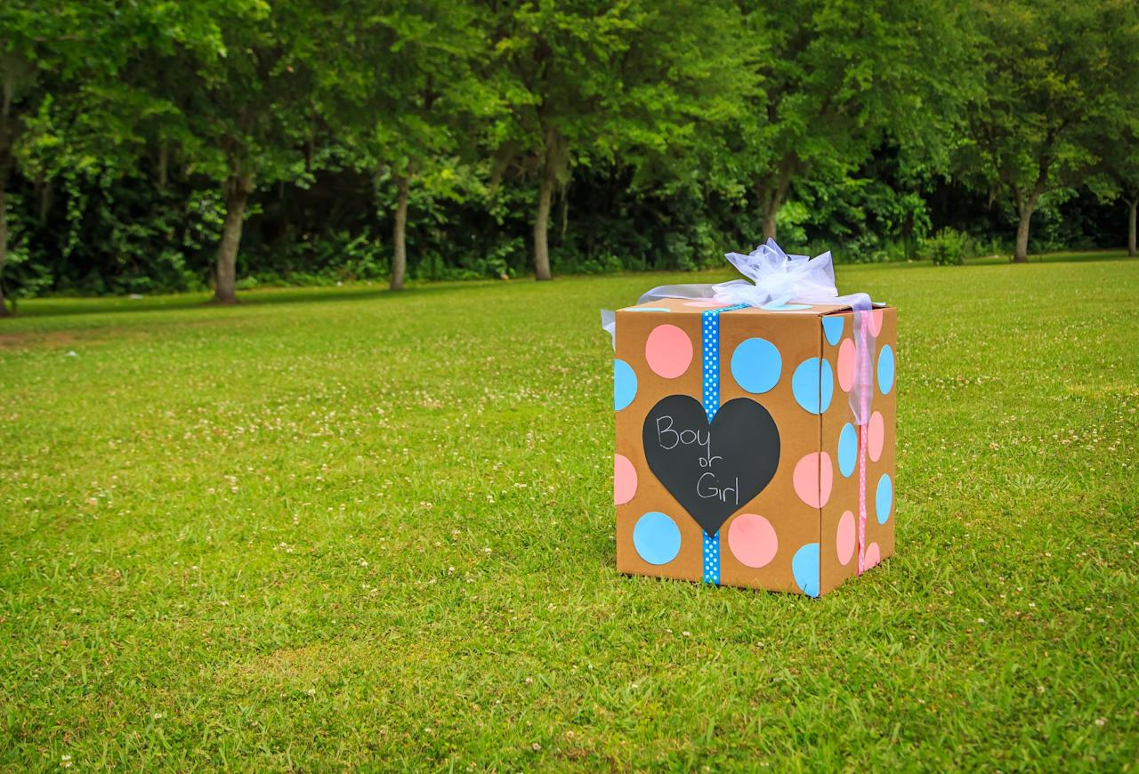 """<p>Sure, <a href=""""https://www.goodhousekeeping.com/life/parenting/a28468598/stop-having-gender-reveal-parties/"""" target=""""_blank"""">gender reveals don't really reveal a baby's gender </a>— it's actually the sex, which is different — and gender isn't a pink-or-blue binary anyway. Even the person who invented the idea of <a href=""""https://www.cosmopolitan.com/lifestyle/a28521831/woman-who-started-gender-reveal-party-speaks-out-facebook-post-jenna-myers-karvunidis/"""" target=""""_blank"""">gender reveals say they're getting a little out of hand</a> (and her daughter, the subject of the first gender-reveal party, is """"<a href=""""https://www.facebook.com/HighGlossSauce/photos/a.110397032312047/2571530012865391/?type=3&theater"""" target=""""_blank"""">a girl who wears suits</a>,"""" she says in a Facebook post). But hey, pregnancy is long, hard, and full of gross things, so we won't begrudge anyone for trying to eke out every bit of joy.</p><p>If you're looking for a moment in your pregnancy when you can replicate that Christmas-morning anticipation of opening up a box and being super-excited about what's inside, these gender reveal ideas might be just the thing. But how to announce the sex of your baby to the world? If there's one huge trend in the gender-reveal world, it's Holi powder, or vibrantly colored powder that was once mostly used in Hindu celebrations (but you can now find at your local Color Run). You can shoot it out of a cannon, pack it in a baseball and hit a grand slam, or even stick it under your tires and watch the plume when your car spins out. If colored powder isn't your thing, there are also sweet treats, balloon crafts, and silly string fights among these unique gender-reveal ideas.<br></p>"""