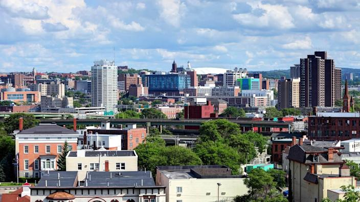 Syracuse is a city in, and the county seat of, Onondaga County, New York, United States.