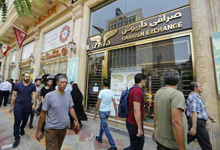 Iran's currency has lost around half its value since April