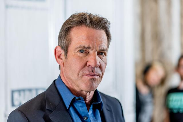 Dennis Quaid, pictured here on the set of AOL's Build Series in 2017, opens up about overcoming cocaine addiction. (Photo: Roy Rochlin/FilmMagic)