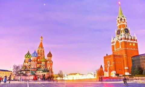 Russia's capital, Moscow, boasts a rich history - Credit: Getty