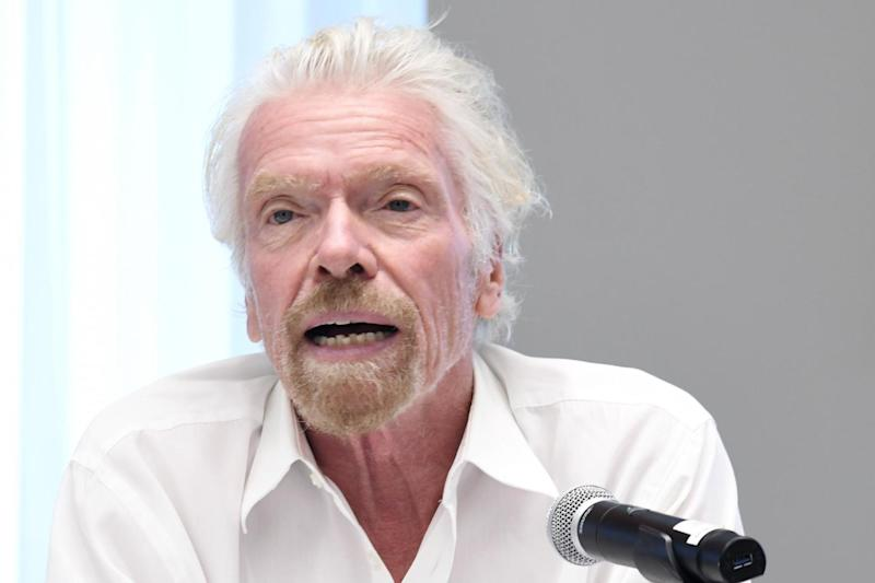 The airline, 51% owned by Branson's Virgin Group and 49% by U.S. airline Delta, closed its Gatwick base (Getty Images)