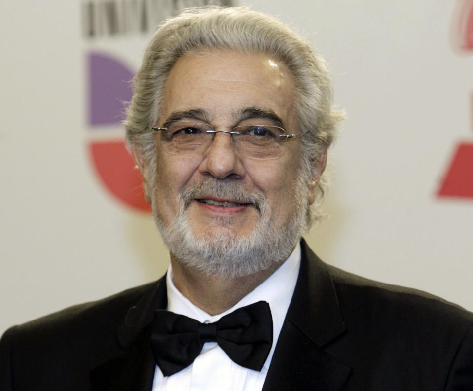 Spanish tenor Plácido Domingo (in 2010) has revealed his coronavirus diagnosis. (Photo: REUTERS/Steve Marcus)