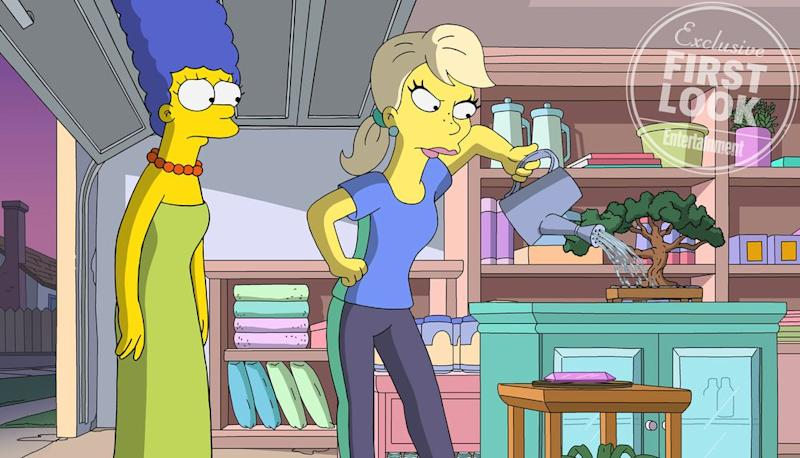 See first look photos of The Simpsons season 30 finale