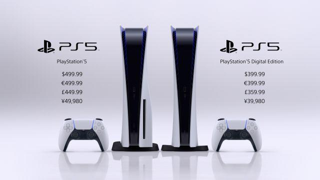 PS5 pricing