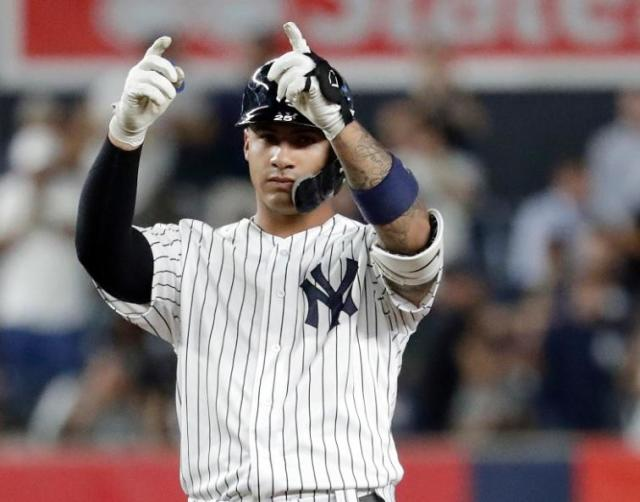 Gleyber Torres set several New York Yankees rookie records. (AP)