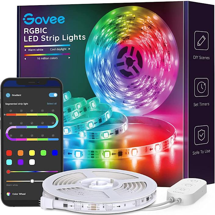 LED strip lights are downright magical, especially at this price. (Photo: Amazon)