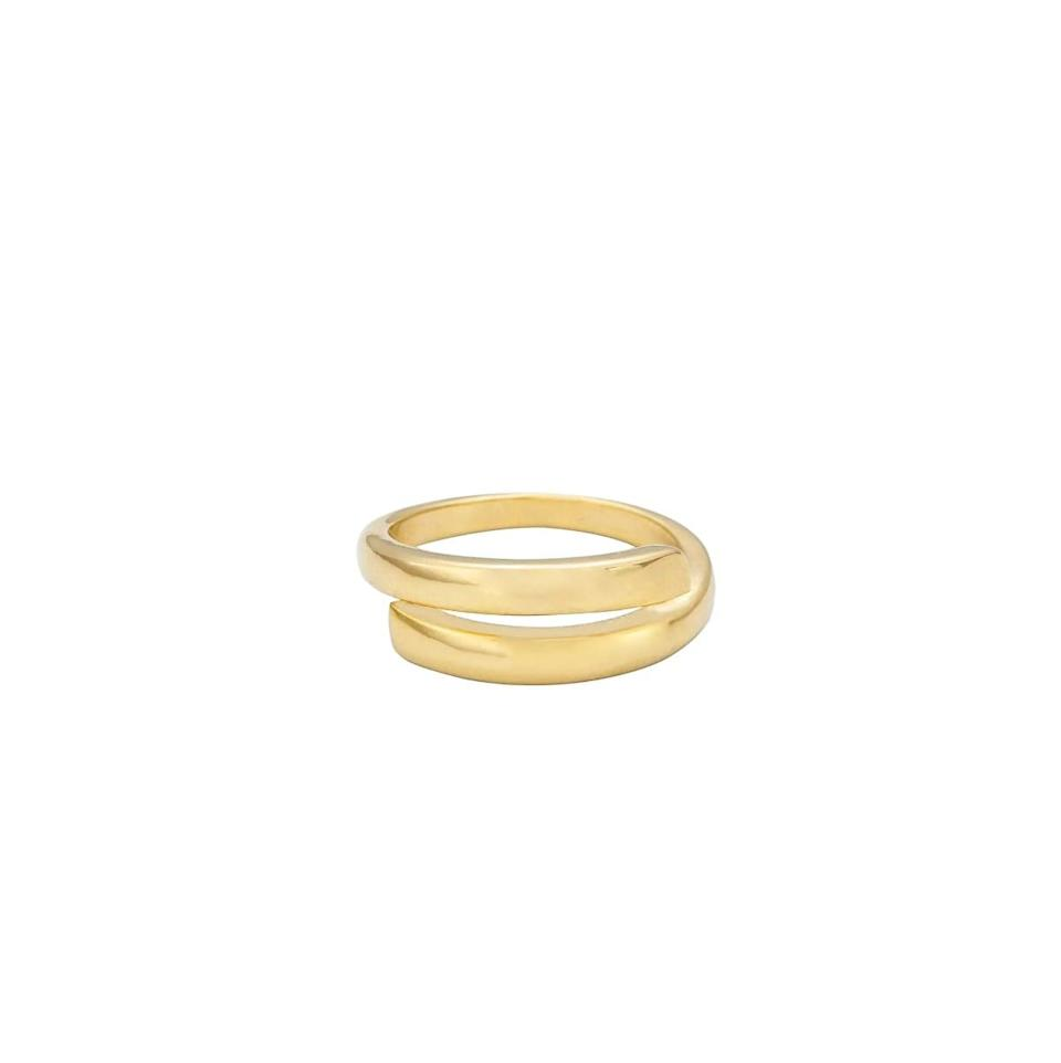 <p>Craving some hand candy? The <span>Ettika Smooth Wrap Ring</span> ($30) can be worn alone or stacked with a bunch of daintier pieces. Oh, and did we mention it's only $30? *adds to cart* </p>